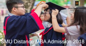 SMU Distance MBA admission 2018