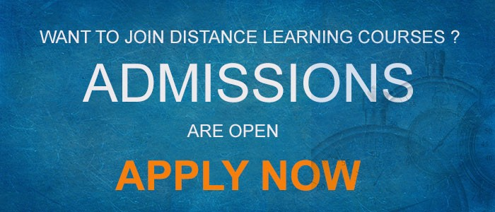 Admission Enquiry For Distance Learning Courses 2019