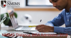 NMIMS University Distance MBA admission 2018