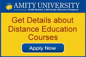 Amity Distance MBA