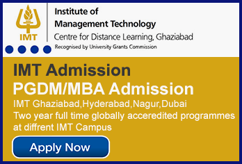 IMT CDL Distance Learning MBA/PGDM