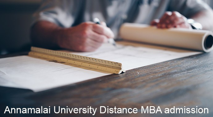 Annamalai University Distance MBA admission 2019