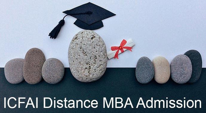 ICFAI University Distance MBA admission 2019