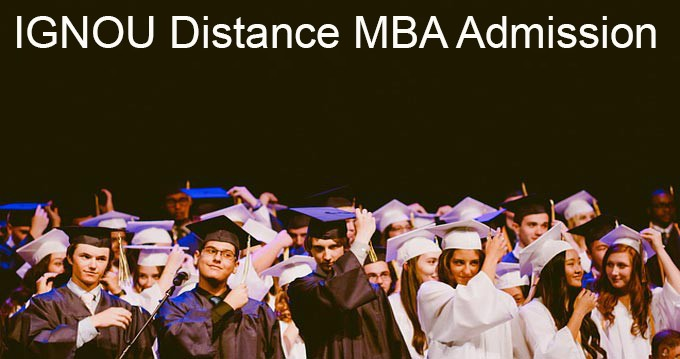IGNOU Distance MBA admission 2019