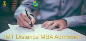 IMT Distance MBA admission 2019