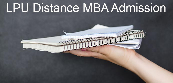 LPU Distance MBA admission 2019
