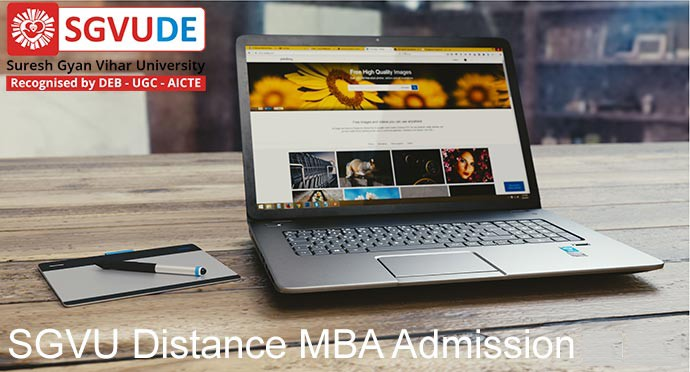 SGVU University Distance MBA admission 2019