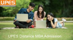UPES Distance MBA admission 2019