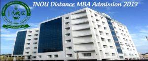 Tamil Nadu Open University (TNOU) Admission 2019
