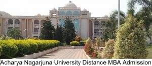 Acharya Nagarjuna University Distance MBA Admission