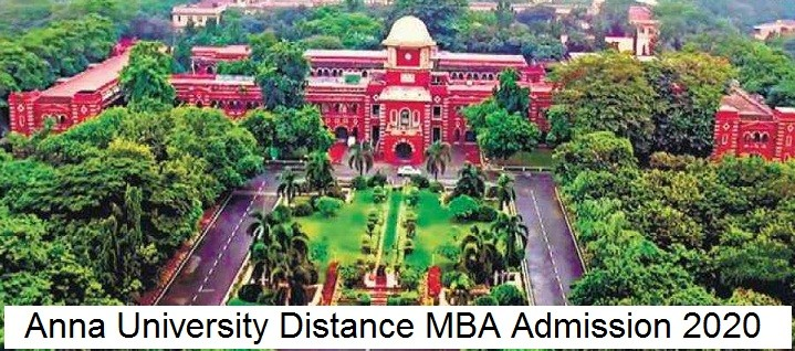Anna University Distance MBA Admission