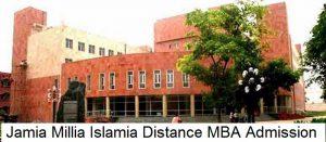 Jamia Millia Islamia Distance MBA Admission