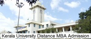 Kerala University Distance MBA Admission