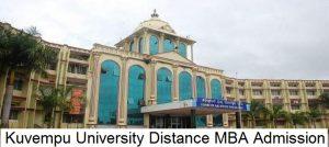 Kuvempu University Distance Education MBA Admission