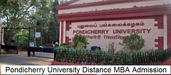 Pondicherry University Distance MBA Admission