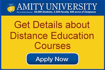 Amity Distance mba admission 2020