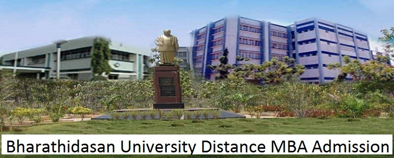 Bharathidasan University Distance MBA Admission
