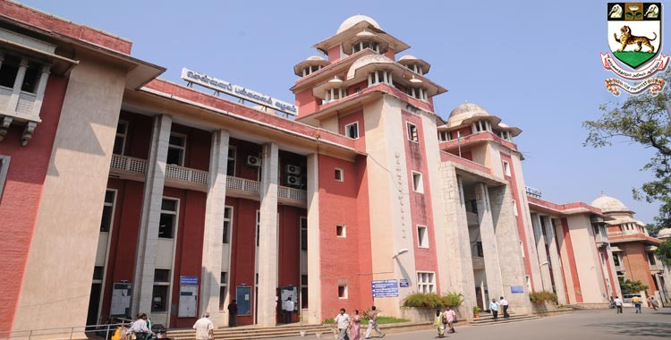 Madras University Distance MBA Admission 2020