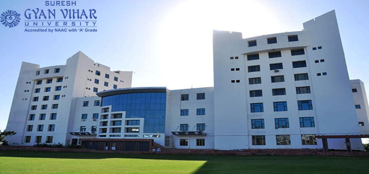 Suresh Gyan Vihar University (SGVU) Distance Education MBA/PGDM Admission 2020