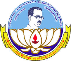 bharathidasan university logo