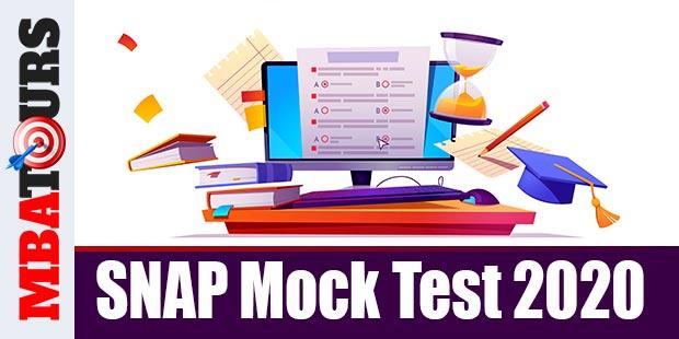 SNAP Mock Test 2020