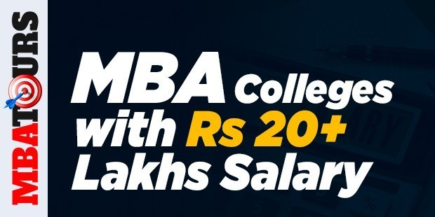 Top MBA Colleges with Rs 20+ Lakhs Average Salary