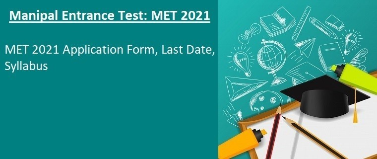 MET 2021 Application Form