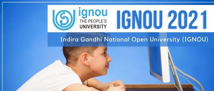 IGNOU july admission 2021