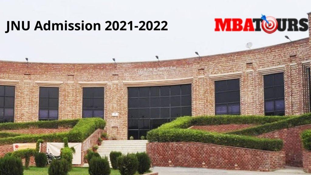 JNU Admission 2021-2022